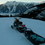 Winter Sled Travel