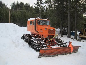 Snowmobile Club Groomer