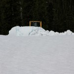 2 metres of snow at the summit