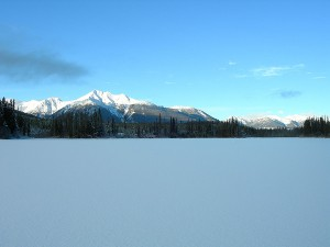 Mt Penrose view from Gwyneth Lake