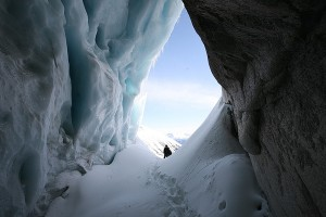 Lone Goat Ice Cave