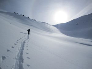 Ski Touring on Green Mt