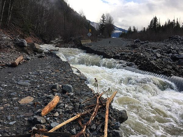 Wolverine Creek Lillooet FSR 5km