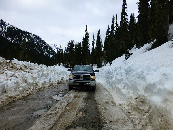 Hurley Road conditions