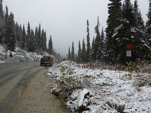 Hurley summit conditions Friday Oct 7