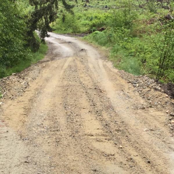 East Hurley road rebuild